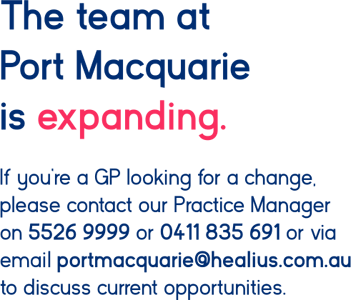 140920 MedCentre Port Mac GP vacancies web banner_text.png